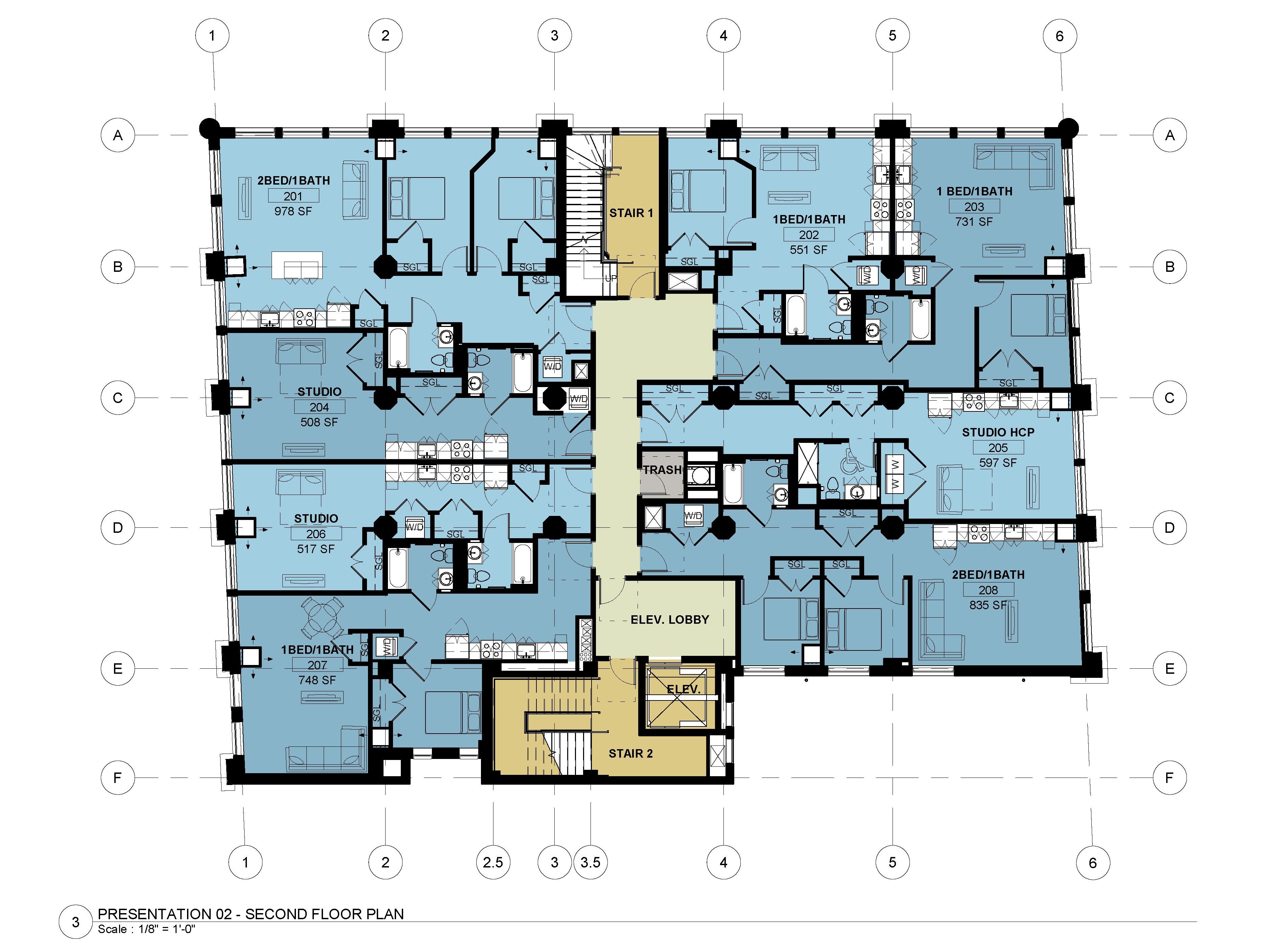 Second - Third Floors