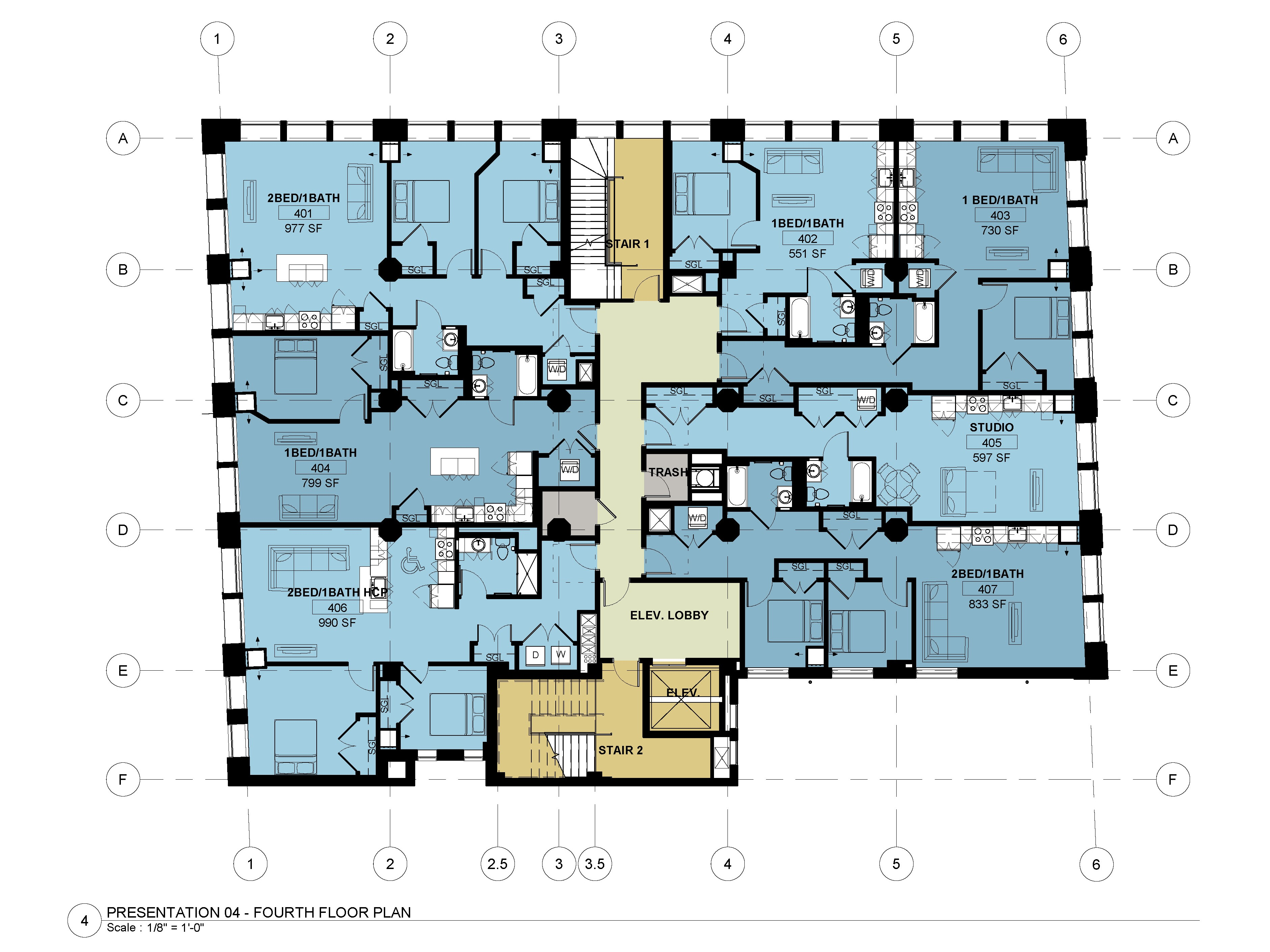 Fourth - Eighth Floors